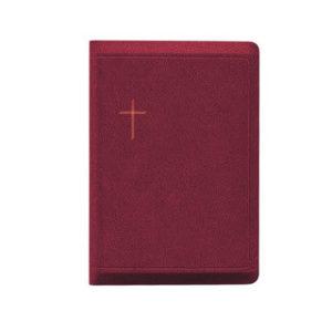 Raamattu, keskikoko, viininpunainen, vetoketju