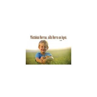 Kortti: Pikkupoika (Ps 135:3)