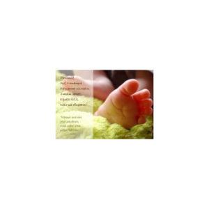 Kortti: Vauvan varpaat (Matt 25:21)