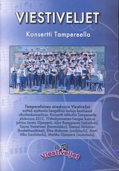 Ulkoilmakonsertti Tampereella 2012 DVD