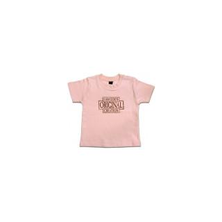 Lasten T-paita, vaaleanpunainen (66-76)
