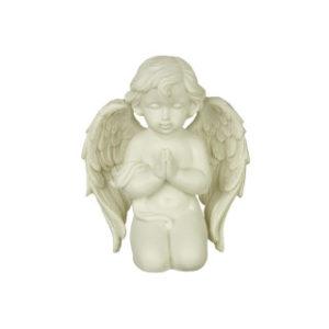 Rukoileva valkoinen enkeli