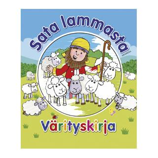 Sata lammasta -värityskirja