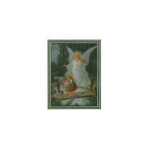 Taulu, Suojelusenkeli, vihreä, koko 19x26