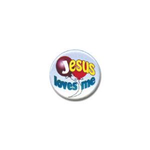 "Rintamerkki, ""Jesus loves me"""
