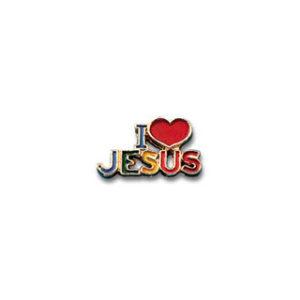 Pinssi, I love Jesus