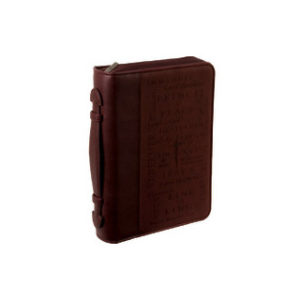 Raamattulaukku, Jeesuksen nimet, viininpunainen