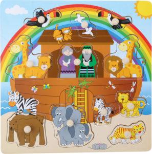 Palapeli, Nooan arkki (11 palaa)