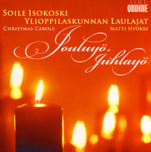Jouluyö, juhlayö, Christmas carols CD