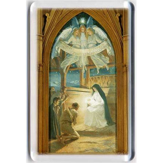 Magneetti: Paimenet Jeesus-lapsen luona