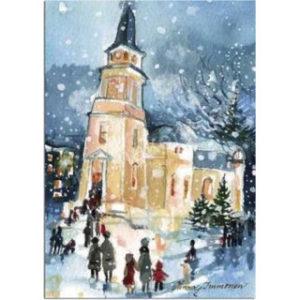 Joulukortti: Kaupungin joulu