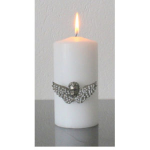 Kynttiläkoru: Enkelinpää siivillä