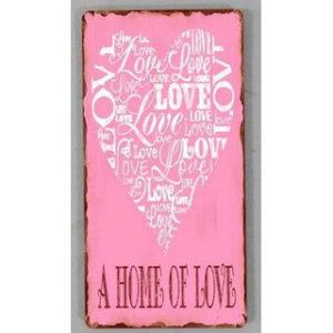 "Sisustusmagneetti ""A Home of Love"""