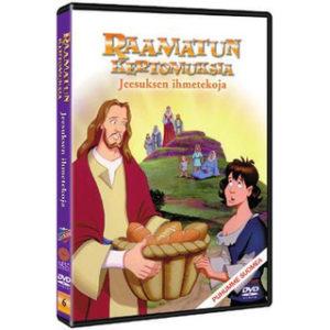 Raamatun kertomuksia: Jeesuksen ihmetekoja DVD
