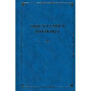 Viiden vuoden päiväkirja (sinikantinen)