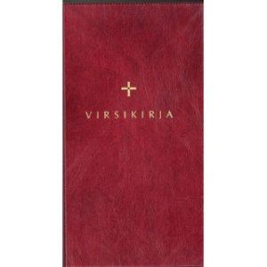Virsikirja (kirkkovirsikirja KV961SL, 115x190 mm, taipuisa tummanpunainen kansi)
