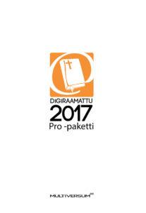 DigiRaamattu 2017 Pro -paketti (sis. IRT+Novum+Saarisalo+Palva)