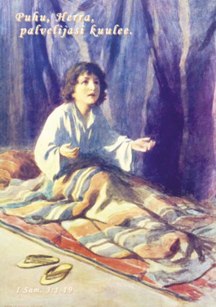 Postikortti, Samuel lapsena