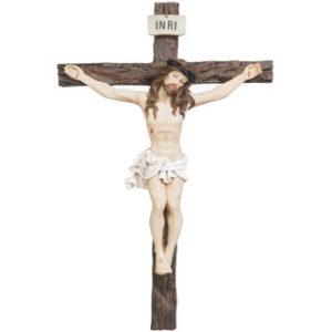 Jeesus ristillä -krusifiksi