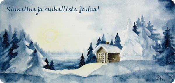 Joulumaisema -joulukortti