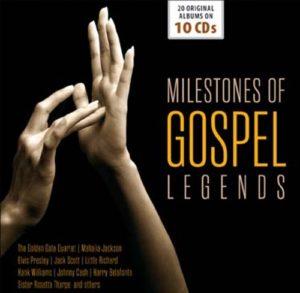 Milestones of Gospel Legends CD