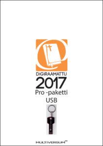 DigiRaamattu 2017 Pro -paketti USB (sis. IRT + Novum + Saarisalo + Palva)