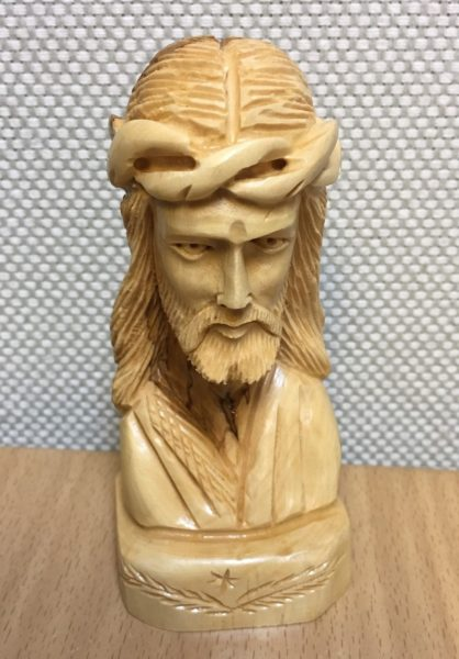 Kristushahmo, oliivipuuta