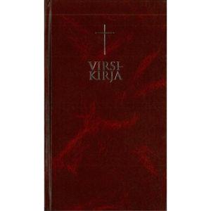 Virsikirja (kirkkovirsikirja, viininpunainen, uudistettu)