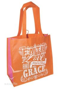 Eco tote -kassi, Faith Love and Grace