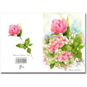 Kortti: Heleä ruusu (2-osainen)