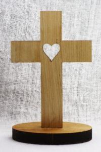Pöytäristi Sydän (22cm)
