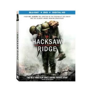 Hacksaw Ridge - Aseeton sotilas Blu-ray