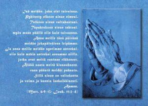 Postikortti, Isämeidän -rukous