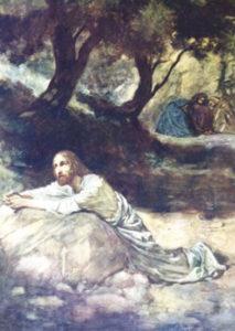 Postikortti, Getsemane