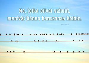 Kortti: Linnut (Matt.25:10)