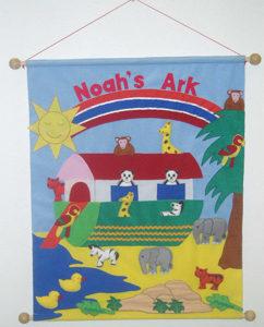 Nooan arkki - kangastaulu