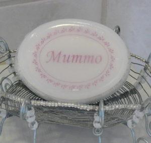 Tekstisaippua Mummo