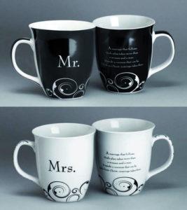"Häämukit ""Mr. & Mrs."" (2 kpl)"