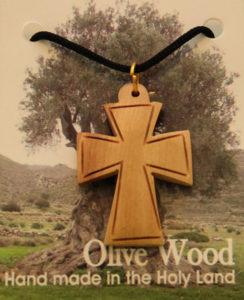 Kaulariipus, risti leveä, oliivipuu