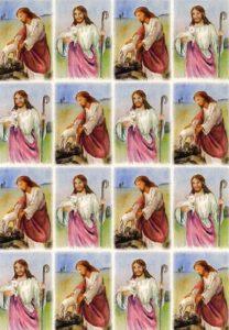 Tarra-arkki, Jeesus ja lammas
