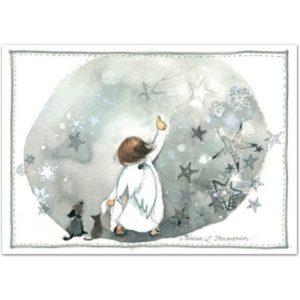 Joulukortti: Tähdenlento
