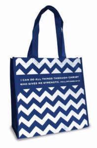 Eco tote -kassi, I can do all things