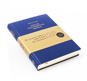 Novum testamentum Graece (Greek – English)