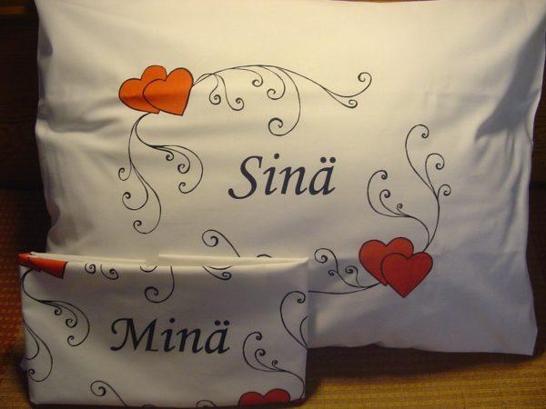 Tyynyliina, Minä (50 x 60 cm)