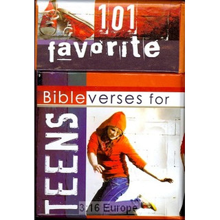 A Box Of Blessings: 101 favorite bibleverses for teens