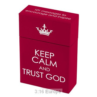 A Box Of Blessings: Keep calm and Trust God