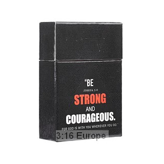 A Box Of Blessings: Be strong and courageous