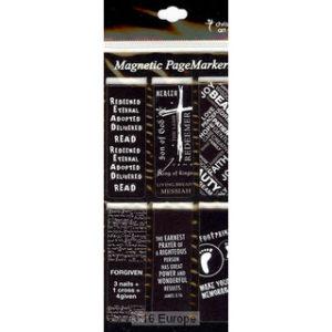 Magneettinen kirjanmerkki, Black and White