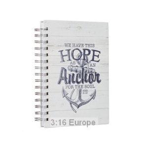 Hope as an anchor -muistivihko
