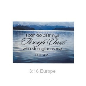 Magneetti, I can do all things through Christ